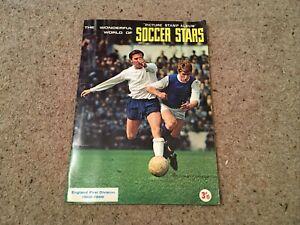Wonderful World of Soccer Stars 1968/69 Football Sticker Album 100% Complete FKS