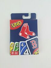 Uno Boston Red Sox Card Game New Mattel