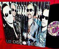 U2 Discotheque 12 MIX LP 1997 CANADA MINT-