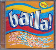 Baila! Tres! #4 (2004) CD NEW Thalia. Amor a la mexicana Celia Cruz. Rie y Llora