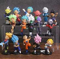 16 Teiliges Dragon Ball Dragonball Figuren Set Anime Manga Son Goku Jiren Vegeta