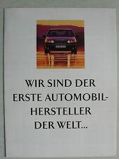 Prospekt Volvo 850 SIPS-BAG - Wir sind der erste Automobilhersteller, 1994, 8 S.