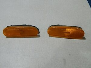 93 94 95 96 97 Infinity J30 Front Bumper Side Marker Lights LH & RH OEM