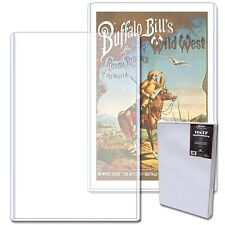20 BCW 11X17 Art Print Toploader Rigid Top Load Holder Poster Menu Photo Frame
