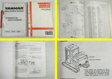 Yanmar YB 451 501 Betriebsanleitung Service Anweisungen + Parts List 1980er