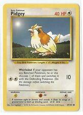 Pokemon Base set common Pidgey 57/102 Near Mint condition