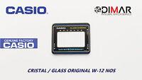 VINTAGE GLASS CASIO W-12 NOS