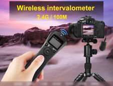 LCD Wireless Timer Remote For Sony Alpha A100 A200 A300 A350 A700 A900 A77 A65