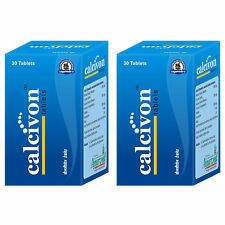 Natural Calcium Pills, Bone Health Herbal Supplements 60 Calcivon Capsules