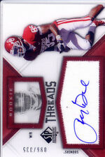 ryan broyles rookie draft auto autograph jersey oklahoma sooners ou college /335