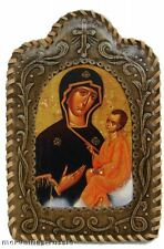 Icone La Vierge à l'Enfant porte-bonheur Cadeau Paques, Icone Vierge à l'Enfant