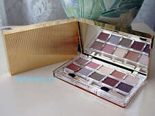 New Estee Lauder 10 Pure Color & Signature Eyeshadow Gold Fluted Palette TRUFFLE