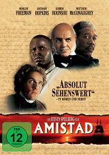 DVD * AMISTAD | MORGAN FREEMAN , SIR ANTHONY HOPKINS # NEU OVP +