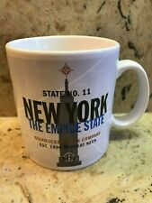 VINTAGE 1999 STARBUCKS NEW YORK THE EMPIRE STATE  20 oz. MUG
