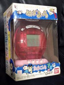 Tamagotchi Mezamatchi clear red alarm clock 1997 Bandai Japan NEW unopened rare