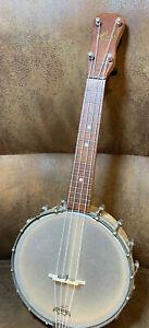 Vintage 1930s Slingerland Maybell banjo ukulele - see pictures