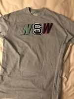 Nike Sportswear NSW Embroidered T-Shirt Color-Gray Size-XXL NWT