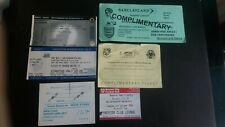 WOLVES Wolverhampton Wanderers RESERVES H@A TICKETS 6 Different season 2000s