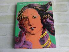 Sotheby's Contemporary Art Morning Auction New York - 14 November 2012 - Book