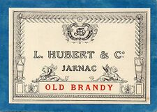 COGNAC VIEILLE ETIQUETTE COGNAC OLD BRANDY L HUBERT & CO §04/08§