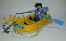 Playmobil Boot mit Padel + Motor + Anker - (3574) - #29
