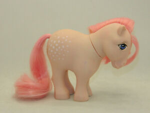 1980s My Little Pony G1 Vintage Cotton Candy Flat Foot Ponies #6