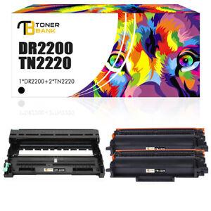 Toner+Trommel für Kompatibel Brother DR2200 7360N DCP-7055 HL-2240 2250DN TN2220