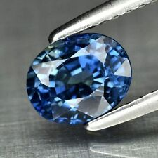 $795 Natural 1.11ct Greenish BLUE SAPPHIRE AAA Oval New Heated Gem Loose USA