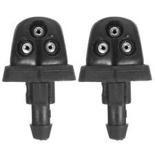 2x Windshield Wiper Spray Jet Washer Nozzle for Suzuki Swift Alto SX4 Black
