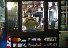 Vintage Walnut Vanity 3 Part Beveled Glass Mirror RareCat's Treasures