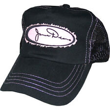 James Dean Logo Black and Pink Trucker Adjustable Hat Cap NEW!