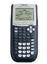 Texas Instruments Ti-84 Plus Graphing Calculator -Black/tested/works
