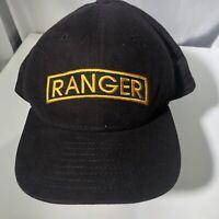 New Era Vintage Strap Back Hat Ranger DuPont Visor Low Profile