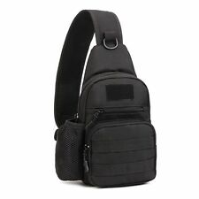 US Molle Tactical Sling Chest Bag Assault Pack Messenger Shoulder Bag Backpack