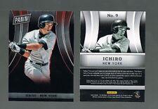 ICHIRO SUZUKI #9 Yankees 200 Made 2014 Panini National VIP Party Gold Pack