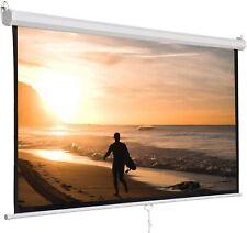 Projector Screen 72 Manual Pull Down Auto Retractable 8k 3d Ultra Hd 169 5core