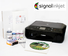 Edible Printer Kit-Canon MG5750, Refillable Cartridges, Ink, 50 Wafer & 25 Icing