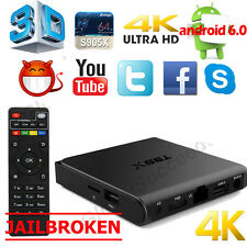 T95X Android6.0 4K Amlogic S905 Smart TV Box Quad Core 2G+16G Wifi Media Player