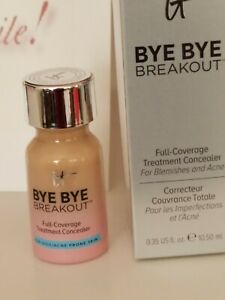IT Cosmetics Bye Bye Breakout Full Coverage Concealer  Medium 0.35 fl. oz. NIB