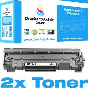 2xXXL Tonerpatrone für HP CF244A 44A für HP LaserJet Pro M15a M15w MFP M28a M28w