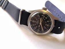 1984 hamilton altus swiss us military wristwatch gg w 113 #756580 swiss made