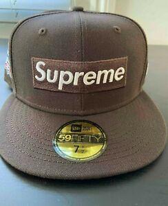 FW21 Supreme x New Era * No Comp Box Logo* Size 7 1/2 *Sold out*