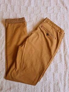 Mens Ted Baker Trousers 36r Chino