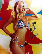 Cindy Margolis signed sexy 8x10 photo / autograph