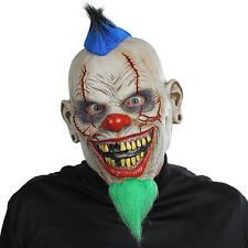 Halloween Bad News Clown Mask Evil Scary Latex Face Cosplay Fancy Dress NEW