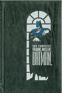 The Complete Frank Miller Batman Hardcover Leather (1989) DC 1st Edition
