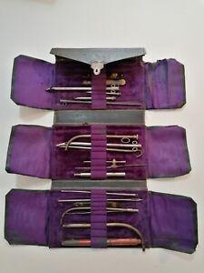 Antique Henri Galante Paris Ancienne Instruments De Chirurgie 1800's