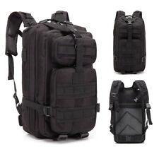 30L Military Tactical Backpack Army 3 Day Assault Pack Molle Bag Hiking Camping