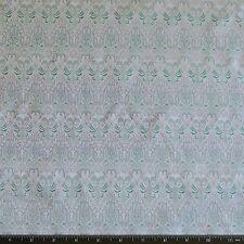 "Green/Purple Satin Brocade Jacquard 100% Silk Fabric 44"" Wide, By Yard (JD-354)"