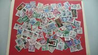 1716  - lot 100 timbres seconds USA